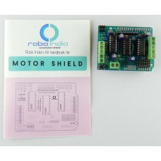 Arduino Motor Driver Shiled for Geared DC Motor / Stepper / Servo + User Manual