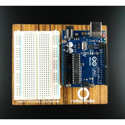 Arduino uno r compatible breadboard kit with