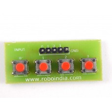 4 Button Array - Keypad (4 Tactile Switch)