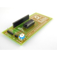 3 Pin LCD Board for 16x2 for Arduino with tutorials & Libraries (Without LCD)