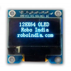Blue OLED 128x64 for Arduino, Raspberry Pi, ESP8266, Node MCU