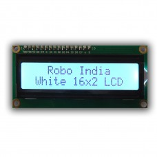 LCD 16X2 with female header pin with WHITE Back Light