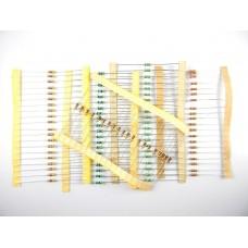 Resistor Pack (20 Type, 25 Each) - 500Pcs