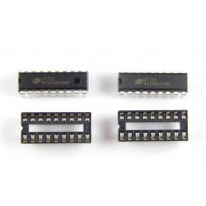 HT12E - HT12D Encoder - Decoder IC + IC Base ( 2 Pcs )
