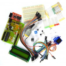 Builder's Kit by Robo India for Arduino with R-Board programmed as Arduino UNO