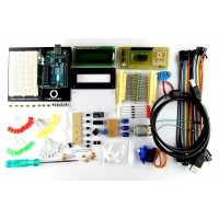Arduino starter kit Revision 2 for beginners (Buildes Kit Revision 2) with Original Arduino UNO R3 board (Made in ITALY)