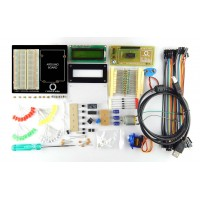 Arduino starter kit Revision 2 for beginners (Builder's Kit Revision 2 by Robo India) without Arduino Board