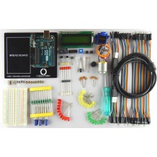 Builder's Kit by Robo India for Arduino with Original Arduino UNO R3 Board (Made in Italy)