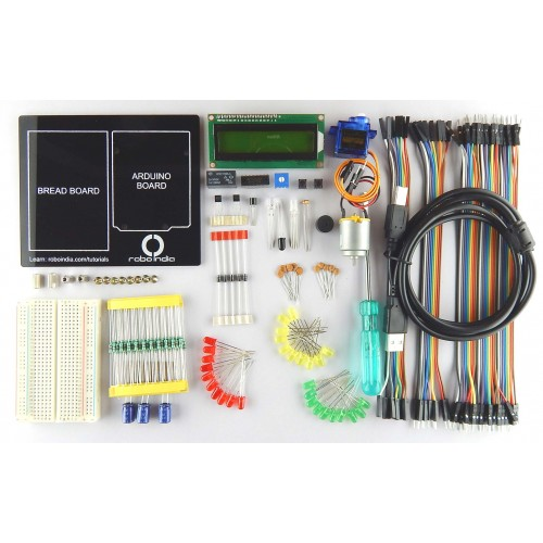 Builder's Kit by Robo India for Arduino bignners ( Arduino