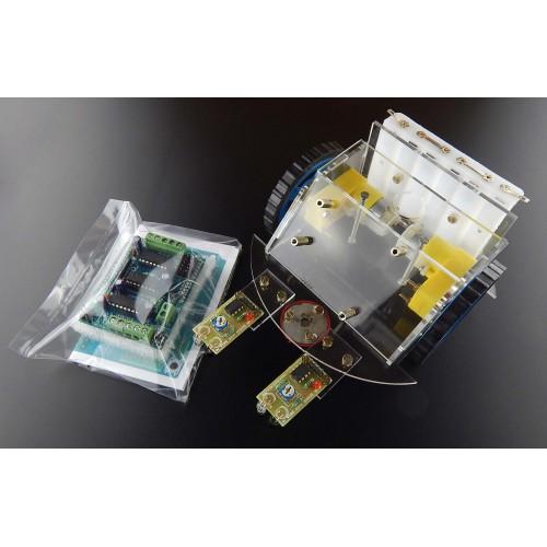 Multipurpose da vinci robot including arduino motor shield and ir multipurpose da vinci robot including arduino motor shield and ir sensors solutioingenieria Image collections