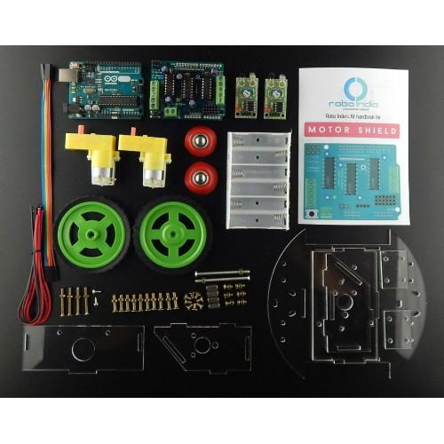 Line Follower Robot Using Arduino Expert Circuits