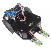 Arduino Based Line Follwer Kit with Original Arduino UNO.