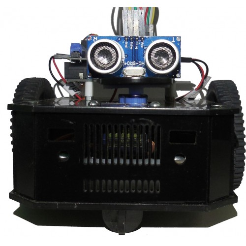 Arduino based obstacle avoiding robot kit with arduino uno based arduino based obstacle avoiding robot kit with arduino uno based robo indias r board solutioingenieria Choice Image