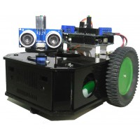 Arduino Based Obstacle Avoiding Robot Kit with Original Arduino UNO.