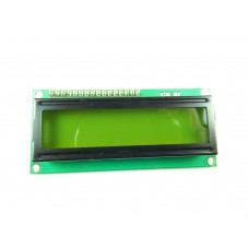 LCD 16X2 with female header pin with Green Back Light