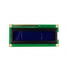 LCD 16X2 with male header pin with Blue Back Light