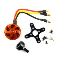 Brushless DC Motor (BLDC) for Quad rotor ( Quad copter) Make -DYS - 1400KV