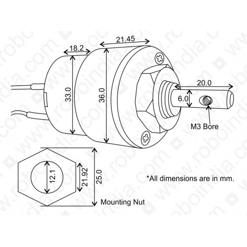 Dc Motor Diagram 500