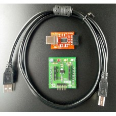 XBee FTDI USB Explorer Kit (5V operated Breakoutboard with USB to serial FTDI)