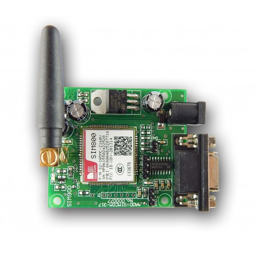 SIM 800 GSM + GPRS modem with antenna