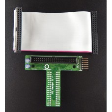 Raspberry Pi Wedge B+ with 40 Pin GPIO Ribbon