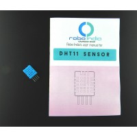 DHT11 (RHT01) Temperature & Humidity digital sensor with user manual