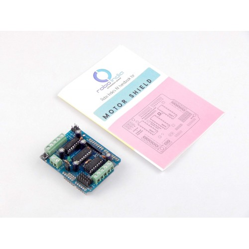 Arduino Motor Driver Shiled for Geared DC Motor / Stepper