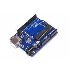 Arduino UNO R3 with DIP Atmega 328 (Low Cost)