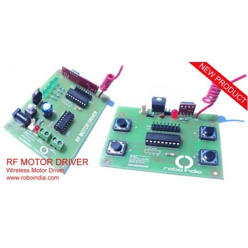 Rf Motor Driver Wireless