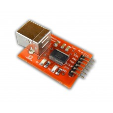 Robo India 3.3V FTDI FT232 Basic Breakout Board USB- Serial (UART) with L-type Male header pins