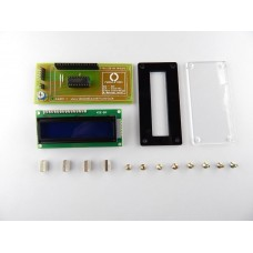 3 Pin LCD for Arduino with tutorials (includes LCD Blue Back Light + Top Cover)