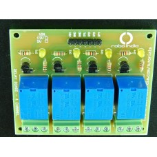 5V 4 Channel relay board