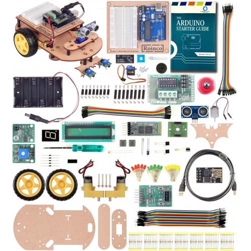 Roinco Arduino UNO Multipurpose Starter Kit for Beginners