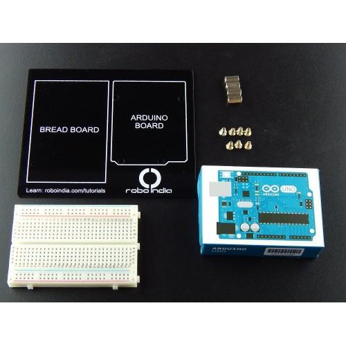 Arduino and bread board holder developer kit with original