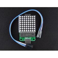 Robo India MAX7219 Dot Led Matrix Module MCU Control LED Display Module for Arduino