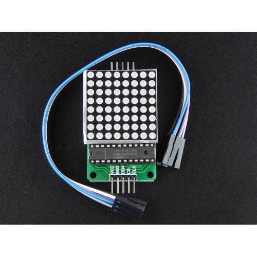 Robo India MAX7219 Dot Led Matrix Module MCU Control LED Display