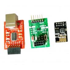 ESP8266 ESP-01 Breakout Board + ESP01 wifi module + FTDI Basic Programmer
