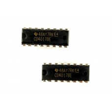 Decade Counter 4017 IC - 2 Pcs