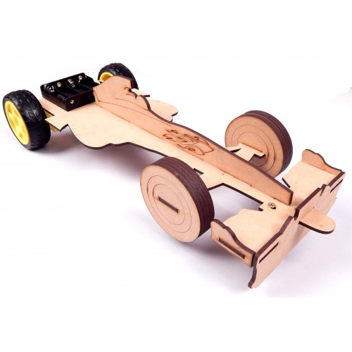 Fromula 1 Robot Chassis 2 wheel Drive for Arduino, ESP, Raspberry Pi