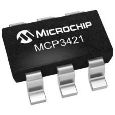 MCP 3421- 18-Bit Analog-to-Digital Converter with I2 C Interface
