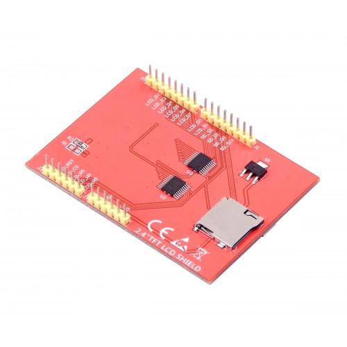 2 4 Inch TFT LCD Shield for Arduino - ILI9341 240 * 320