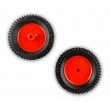 7 x 2 CM Robot Wheels (tyres) for 6 mm shaft Geared DC motor - 2 Pcs