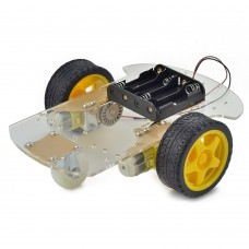 Smart Car Chassis 2WD for Arduino, Raspberry Pi, AVR and other MCU