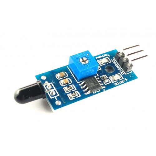 Flame sensor for arduino, NodeMCU, Raspberry pi etc