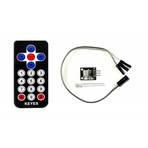 ir remote with receiver and ir led for arduino  raspberry pi  nodemcu etc