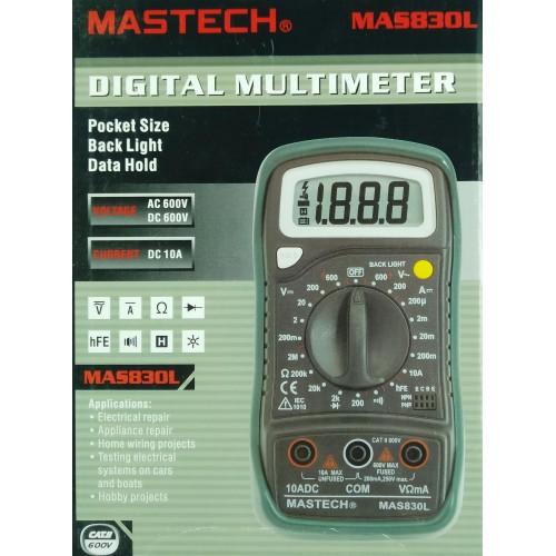 MASTECH digital multimeter MAS830L