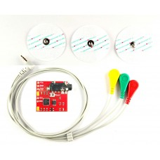 EMG Muscle Signal Sensor Kit With Professional EMG Cable For Arduino