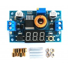 XL4015 5A DC-DC Step Down Adjustable Supply Seven Segment Display
